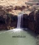 آبشار شول بوشهر از ابشارهای دیدنی در ایران