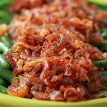 غذا با لوبیا سبز